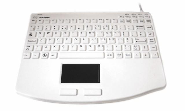 Accuratus KYBNASIL540CV2W Standard Wired USB QWERTY White