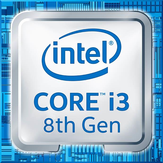 Intel Core i3 8100 - 3.6 GHz - 4 Kerne