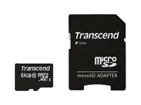 Premium - Flash-Speicherkarte (microSDHC/SD-Adapter inbegriffen) - 64 GB