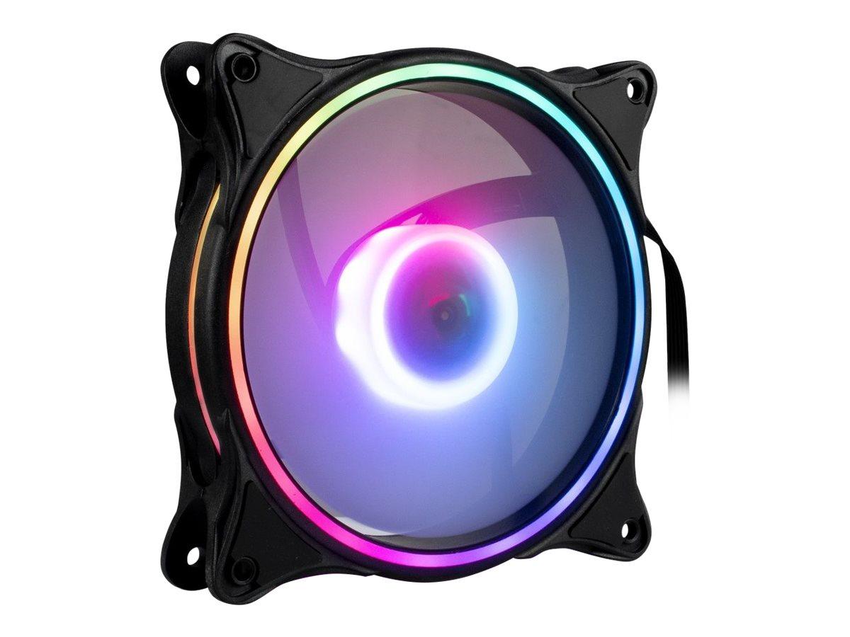 Inter-Tech Argus RS-081 RGB - Gehäuselüfter - 120 mm
