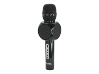 D31672 Mikrofon Karaoke-Mikrofon Schwarz