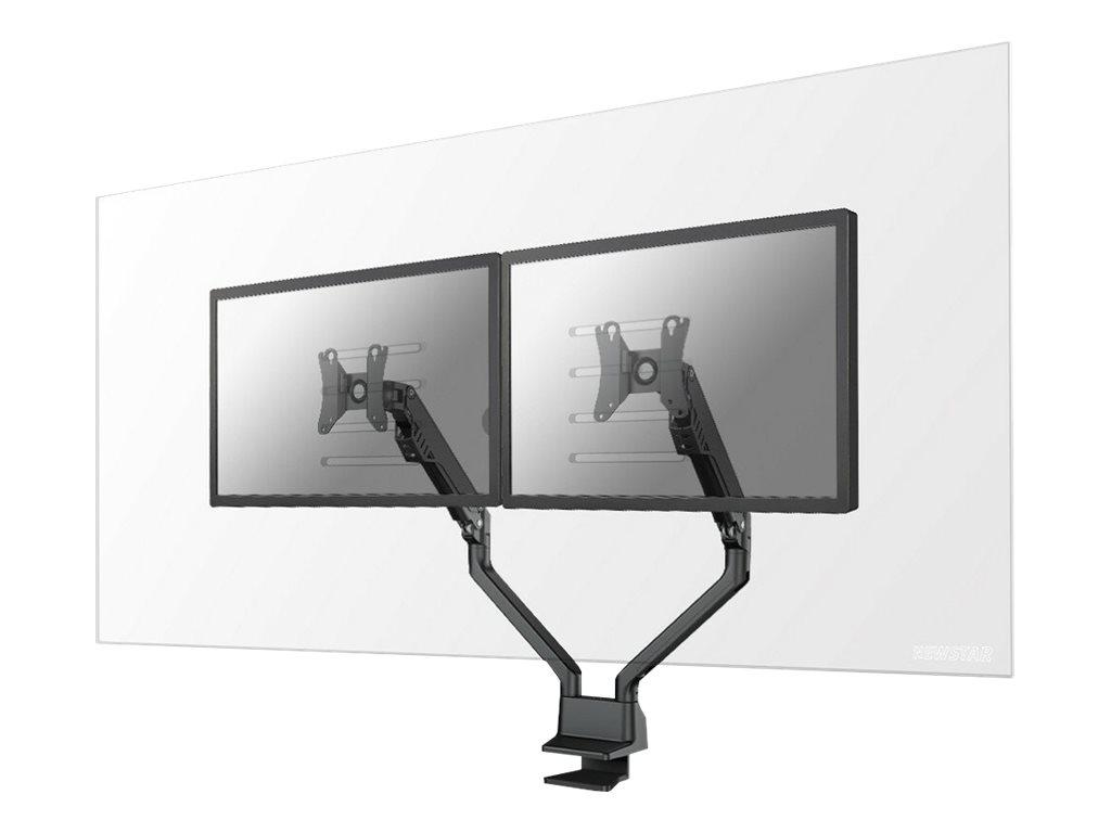 """Vorschau: NewStar Montagekomponente (Schutzscheibe) für 2 Monitore - 100% Acryl - durchsichtig - Bildschirmgröße: 55.9-68.6 cm (22""""-27"""")"""