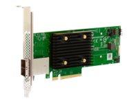 Brocade Broadcom HBA 9500-8e Tri-Mode - Speicher-Controller - 8 Sender/Kanal - SATA 6Gb/s / SAS 12Gb/s / PCIe 4.0 (NVMe)