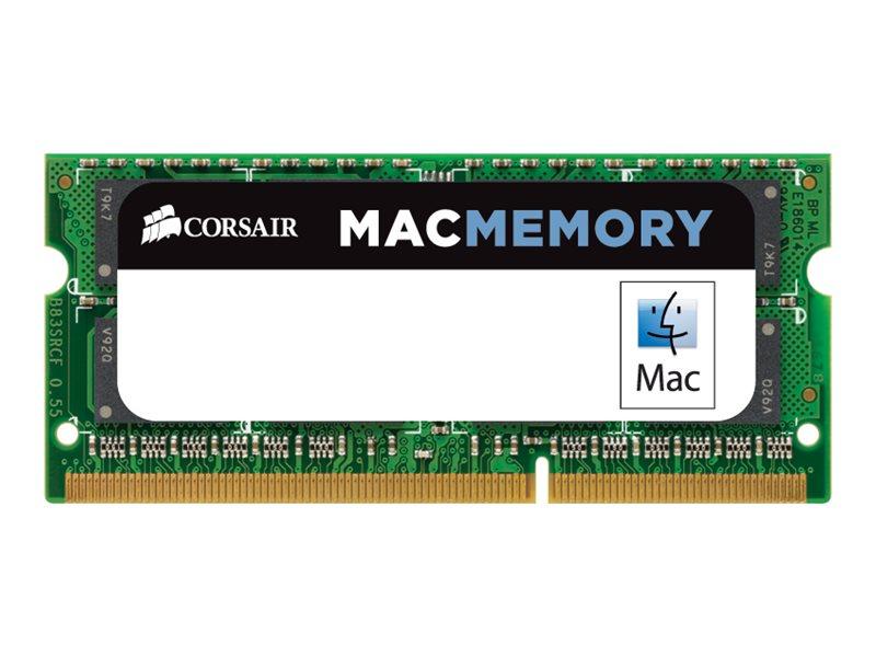 Corsair Mac Memory - DDR3 - Modul - 4 GB - SO DIMM 204-PIN