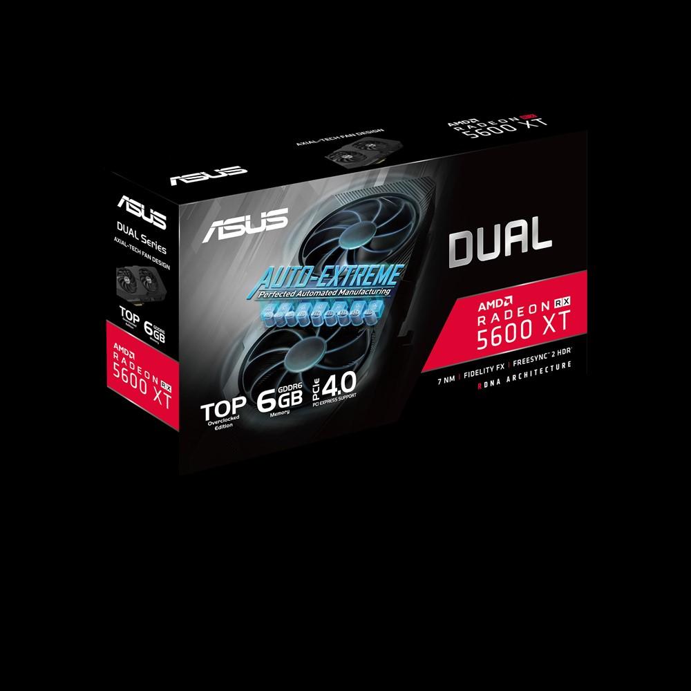 ASUS DUAL-RX5600XT-T6G-EVO - Grafikkarten - Radeon RX 5600 XT