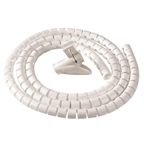 Fellowes CableZip - Kabel-Flexrohr - Flur - Kunststoff - Weiß