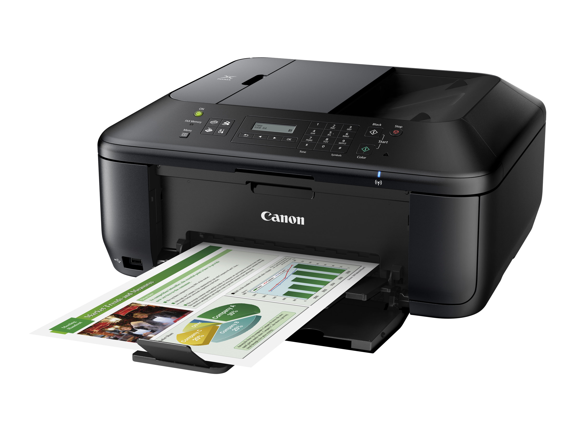 Canon PIXMA MX535 - Multifunktionsdrucker