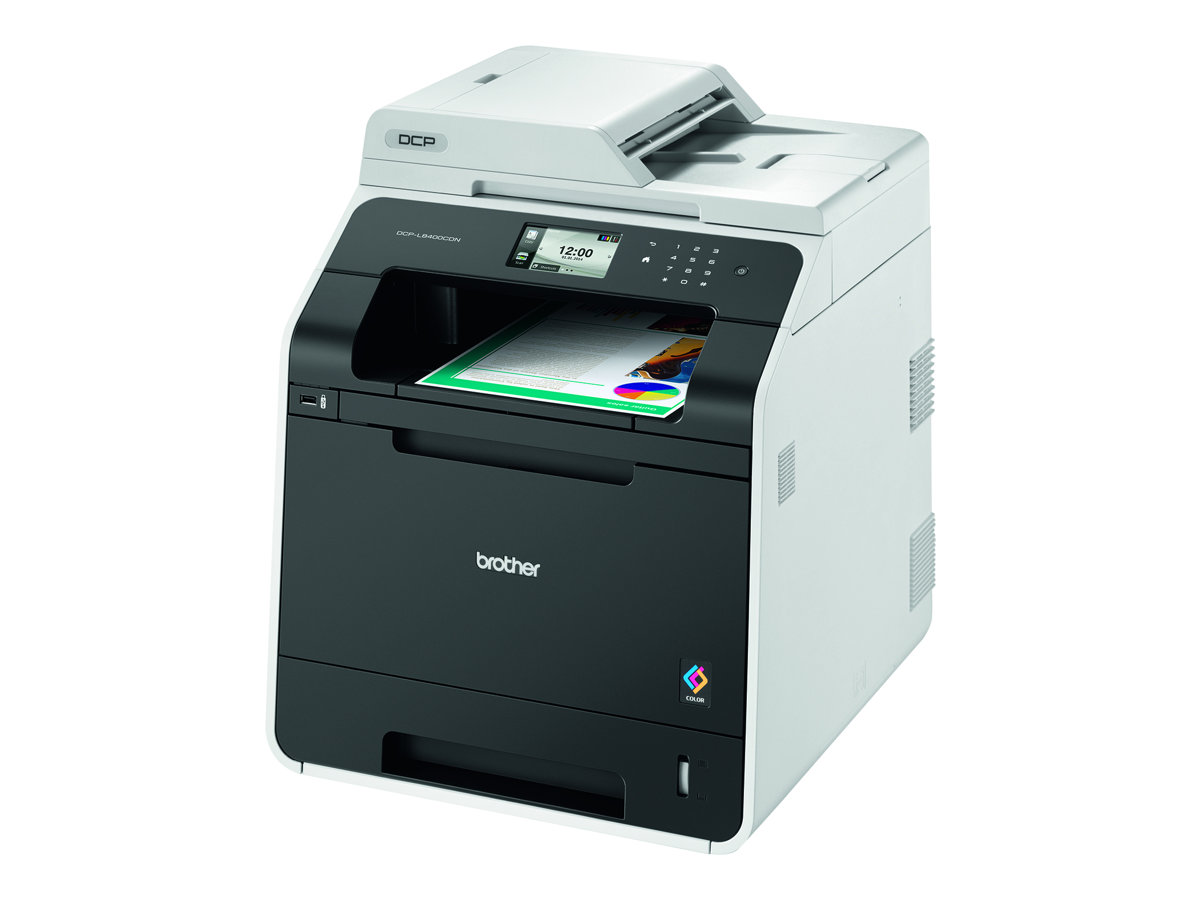 Brother DCP-L8400CDN - Multifunktionsdrucker - Farbe - Laser - Legal (216 x 356 mm)