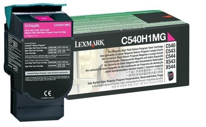Lexmark C540H1MG Laser cartridge 2000Seiten Magenta Lasertoner / Patrone