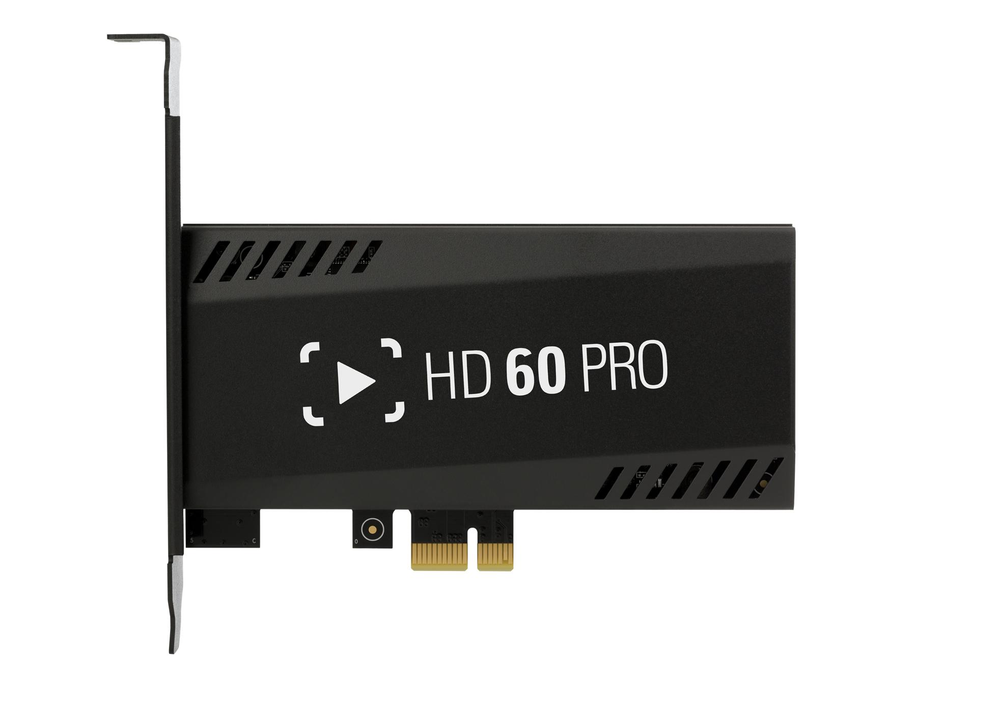 Elgato Game Capture HD60 Pro 480p,576i,576p,720p,1080i,1080p 60000 Kbit/s 102 g 122 mm 56 mm 14 mm