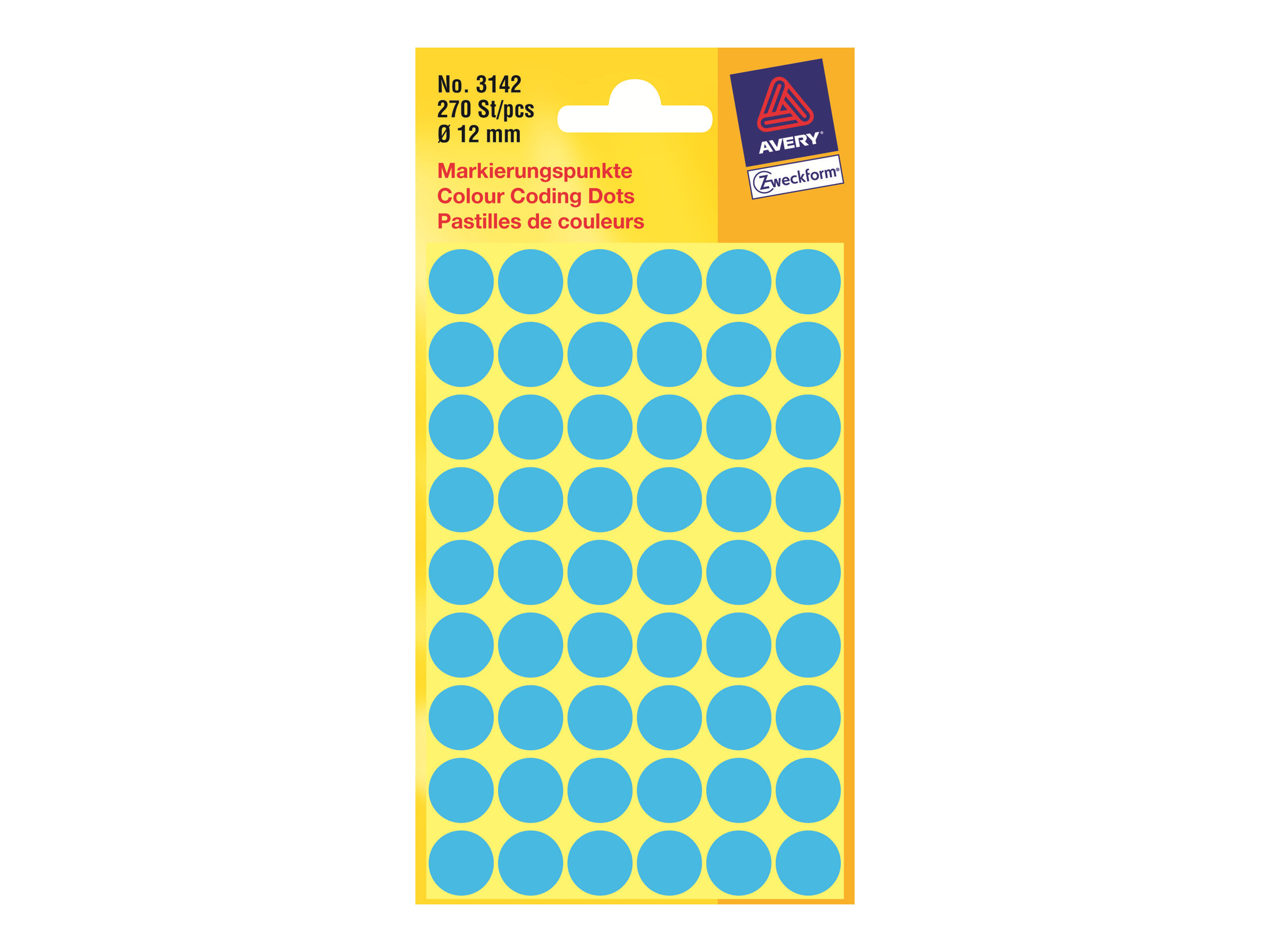 Avery Zweckform Colour Coding Dots 3142