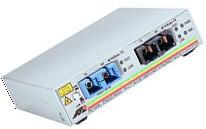 Allied Telesis 100FX (SC) Multi-Mode to 100FX (SC) Single-Mode Media Converter (15km) 100Mbit/s Netzwerk Medienkonverter