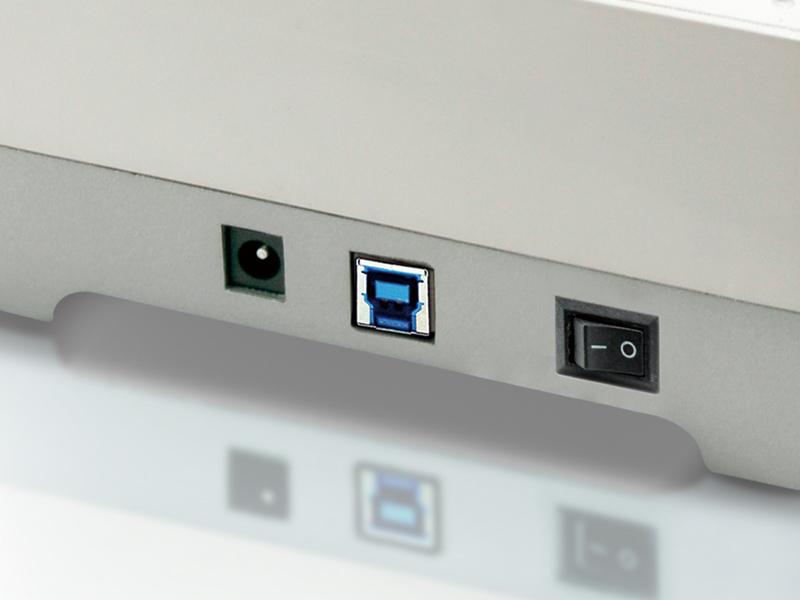 """Conceptronic CHDDOCKUSB3 2,5/3,5 inch Hard Disk Docking Station USB 3.0 - Speicher-Controller mit Ein/Aus-Schalter - 2,5"""" / 3,5"""" gemeinsam genutzt (6,4 cm/8,9 cm gemeinsam genutzt)"""
