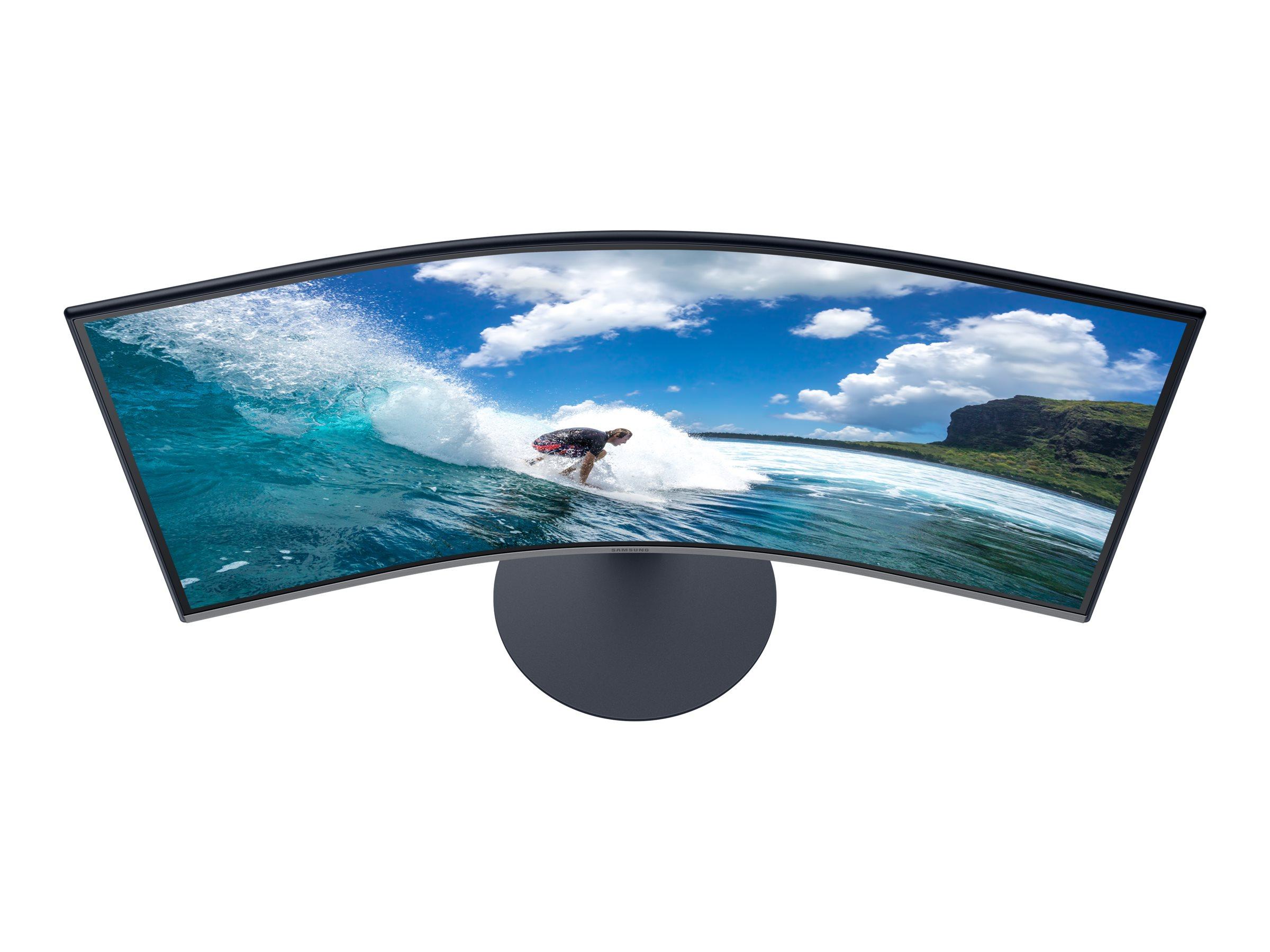 "Samsung C32T550FDR - T55 Series - LED-Monitor - gebogen - 80 cm (32"")"