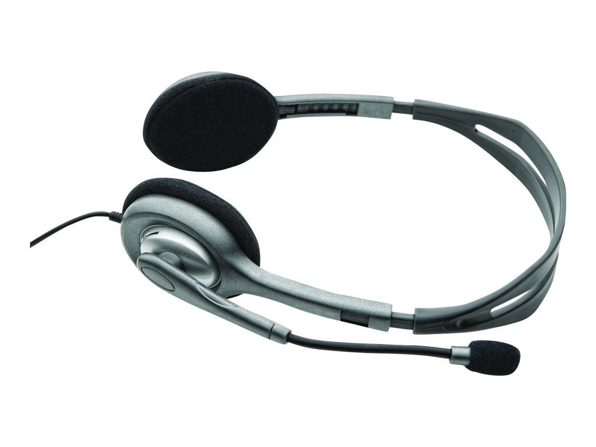 Logitech Stereo Headset H110 - Headset - On-Ear