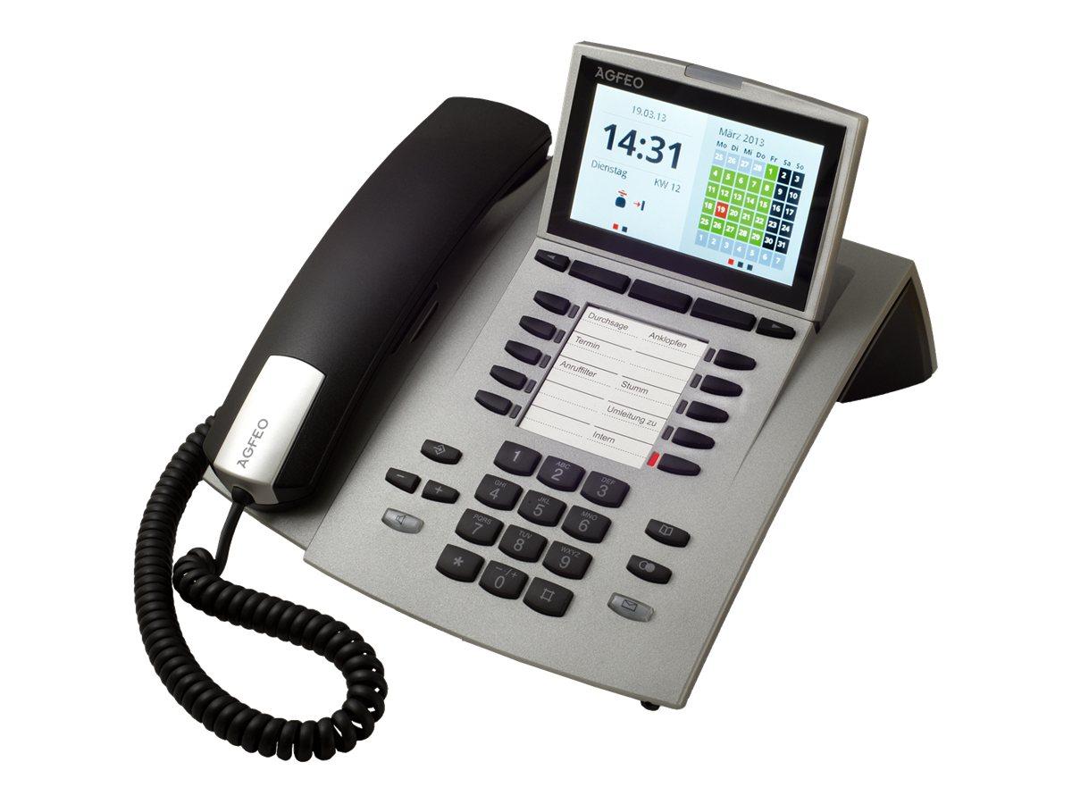 AGFEO ST 45 - Digitaltelefon - Silber