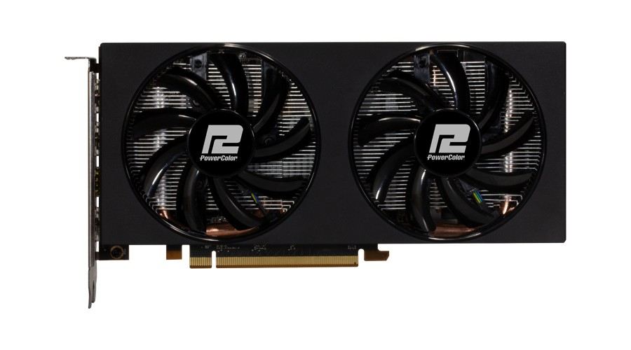 PowerColor RX 5600XT V2 14GBPS 6GB DDR6 DualLüfter retail Graphics card PCIExpress