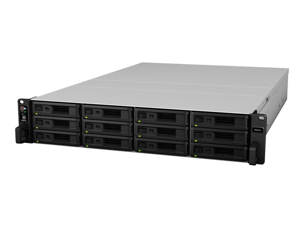Synology RackStation RS2418+ - NAS-Server - 12 Schächte