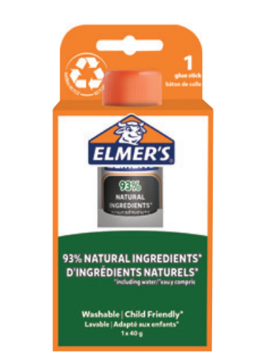 Elmers Klebestift Pure Glue 40G - 1er Blister