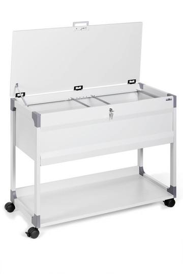 Durable 3787 - Edelstahl - Grau - A4 - 100 Blätter - 10 Schublade(n) - 736 x 432 x 875 mm