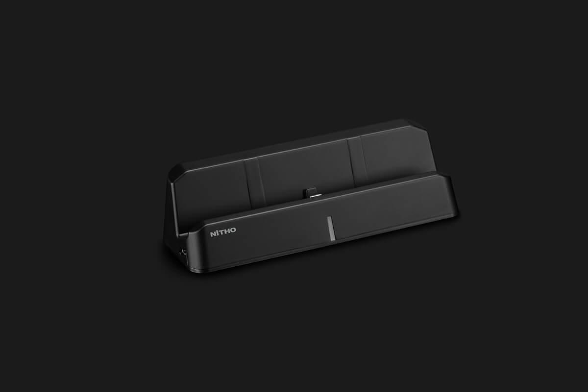 Vorschau: Nitho NSW-CDP4-K - Andockstation - Nintendo Switch - Schwarz - Lithium-Ion (Li-Ion) - 4000 mAh