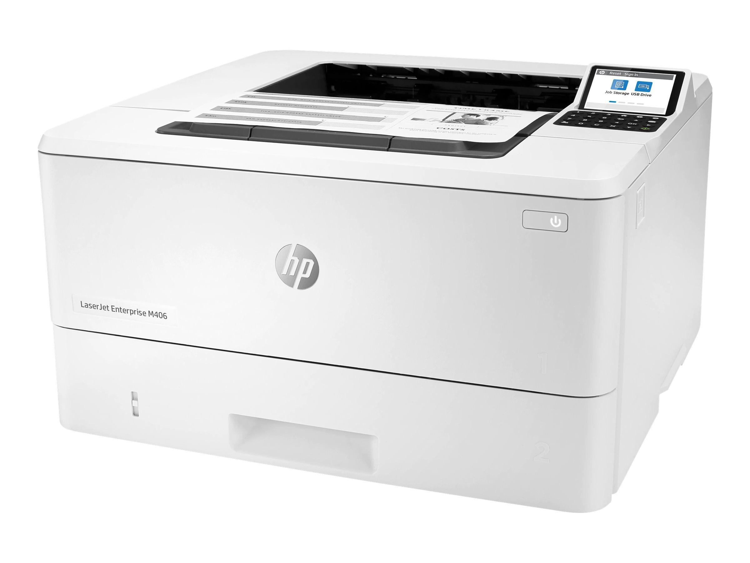 HP LaserJet Enterprise M406dn - Drucker - s/w
