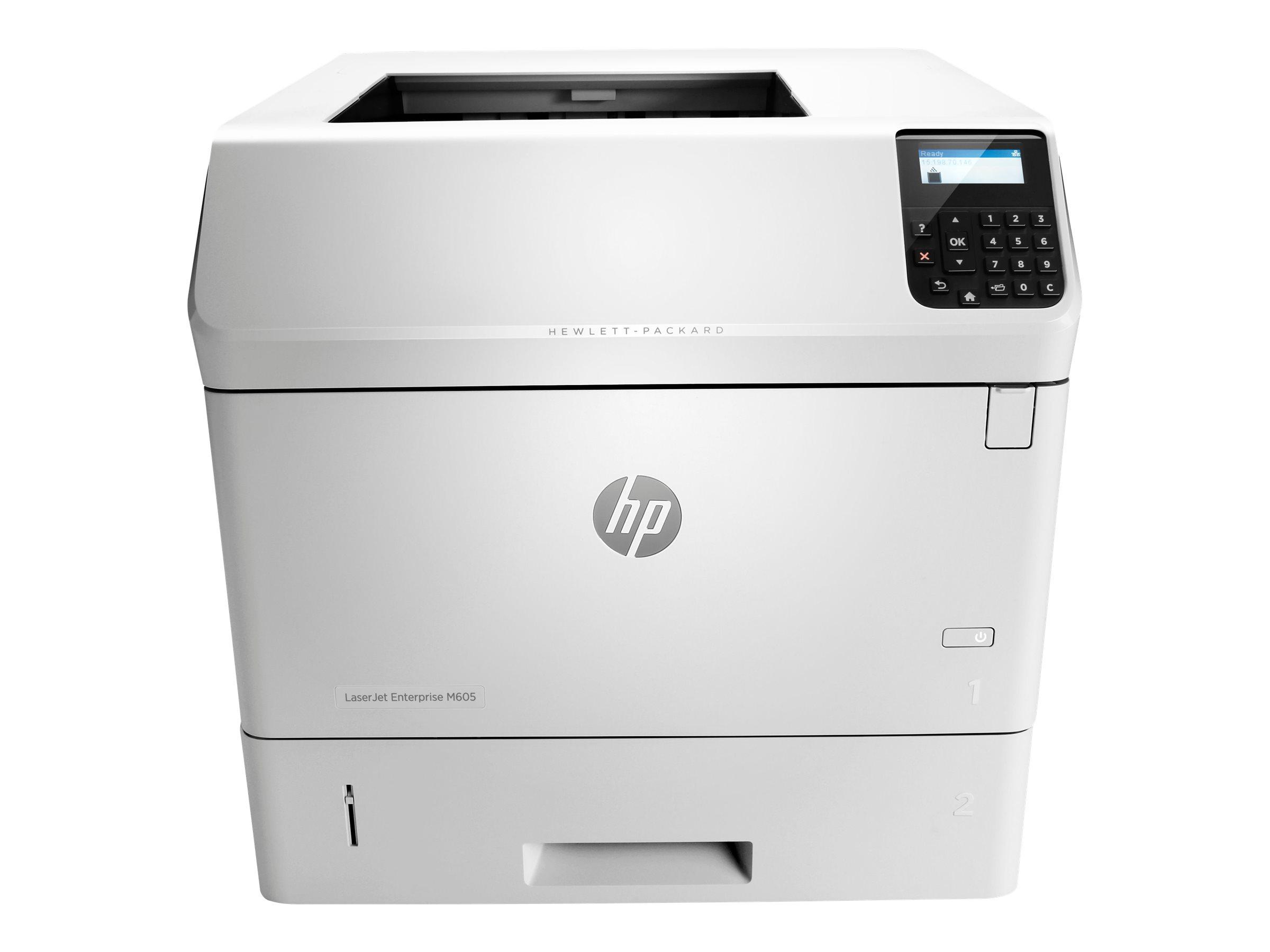 HP LaserJet Enterprise M605n - Drucker - monochrom