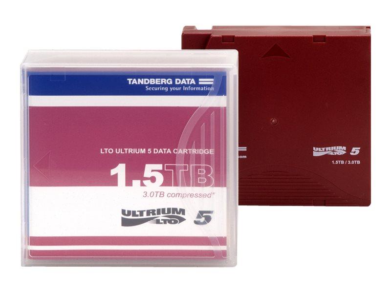 Tandberg LTO Ultrium 5 - 1.5 TB / 3 TB - für P/N: 3519-LTO-BUN1