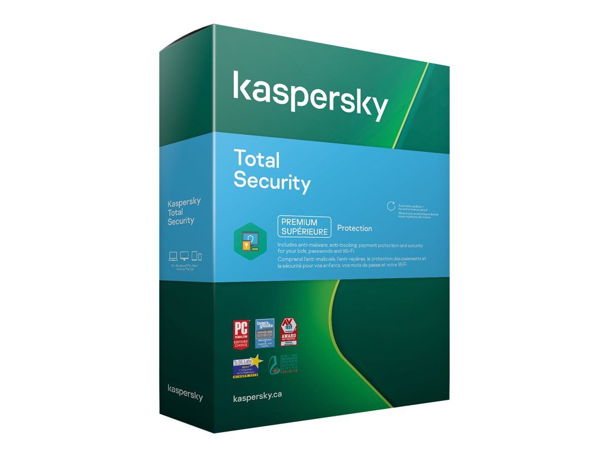 Kaspersky Total Security 2021 - Box-Pack (1 Jahr)