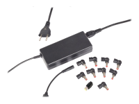 APA03EU2 Universal 90W Schwarz Netzteil & Spannungsumwandler