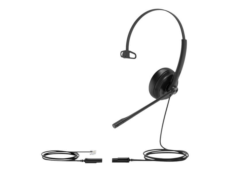 Yealink YHS34 Mono - Headset - On-Ear - kabelgebunden