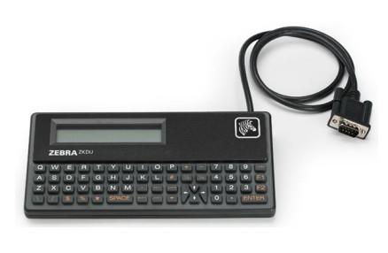 Zebra Keyboard Display Unit - Tastatur - seriell