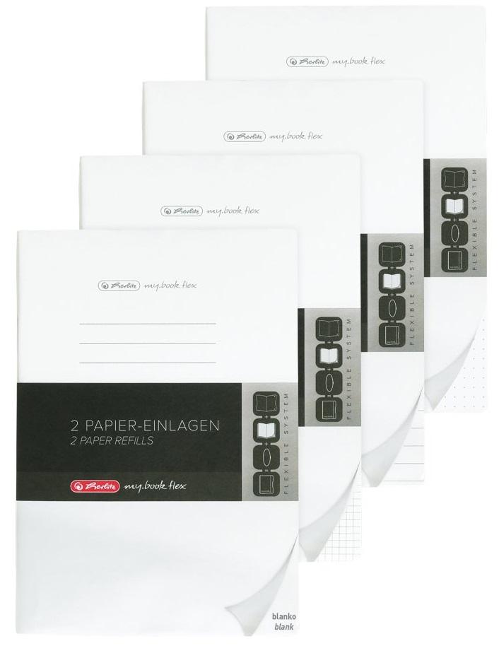 Herlitz my.book - Einfarbig - Schwarz - A5 - 40 Blätter - 80 g/m² - Kariertes Papier