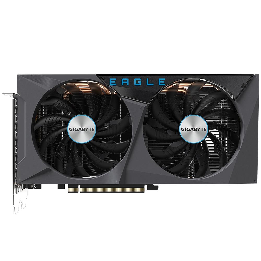 Gigabyte GeForce RTX 3060 Ti EAGLE 8G - GeForce RTX 3060 Ti - 8 GB - GDDR6 - 256 Bit - 7680 x 4320 Pixel - PCI Express x16 4.0