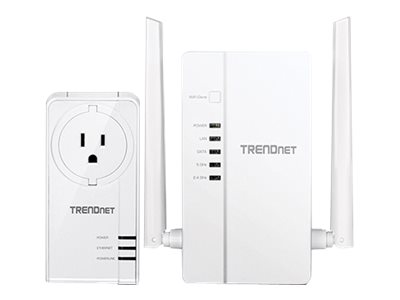 TRENDnet WiFi Everywhere Powerline 1200 AV2 Kit TPL-430APK