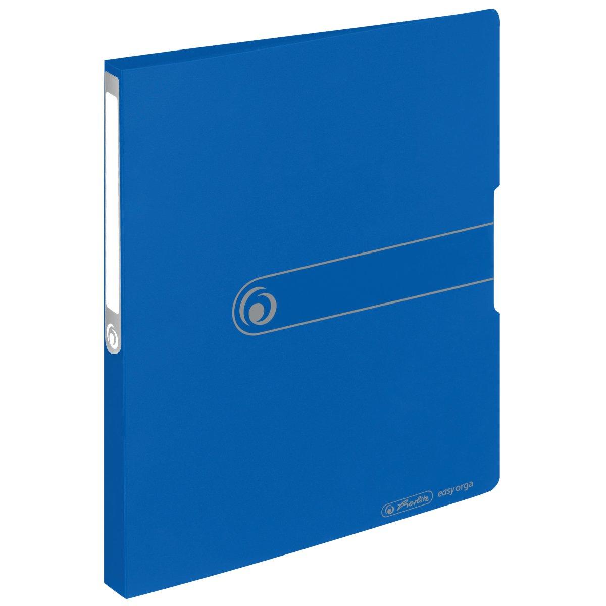 Herlitz 11217130 - A4 - Lagerung - Polypropylen (PP) - Blau - 1,6 cm - 1 Stück(e)