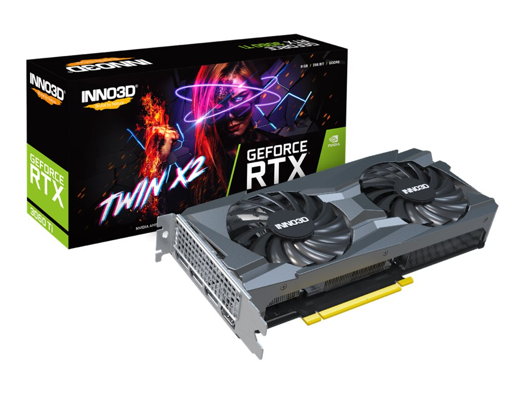 Inno3D GeForce RTX 3060 TI TWIN X2 - Grafikkarten
