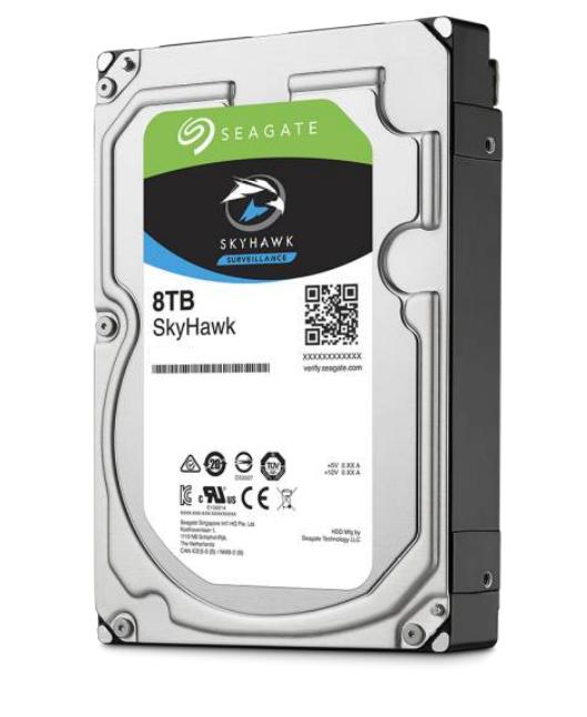 Seagate SkyHawk ST8000VX004 - 3.5 Zoll - 8000 GB