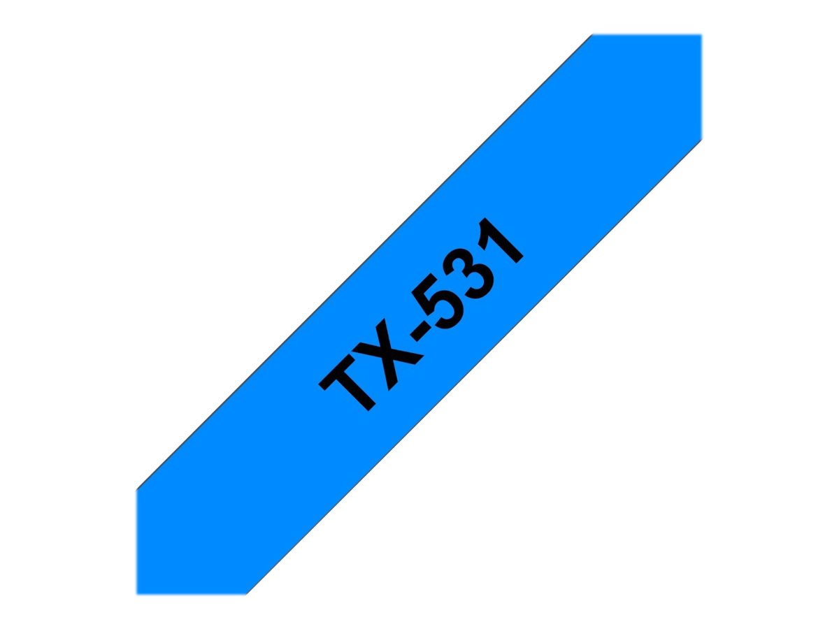 Brother Schwarz, Blau - Rolle (1,2 cm) 1 Rolle(n) Etiketten