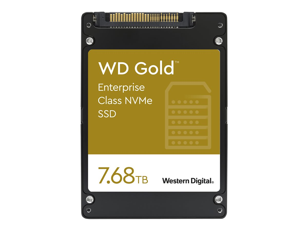"""WD Gold Enterprise-Class SSD WDS768T1D0D - Solid-State-Disk - 7.68 TB - intern - 2.5"""" (6.4 cm)"""