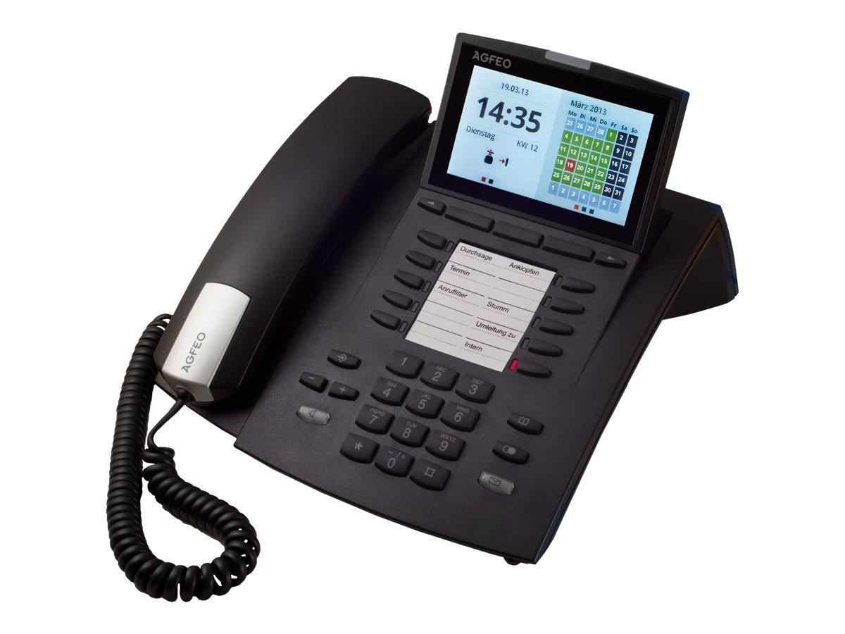 AGFEO ST 45 - Digitaltelefon - Schwarz