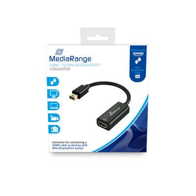 MEDIARANGE MRCS176 - 0,15 m - Mini DisplayPort - HDMI - Männlich - Weiblich - Gerade