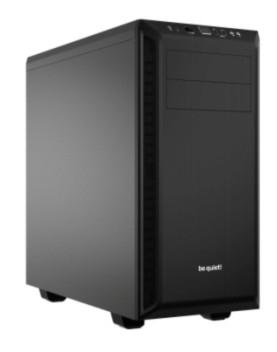 Be Quiet! Pure Base 600 Midi-Tower Schwarz Computer-Gehäuse