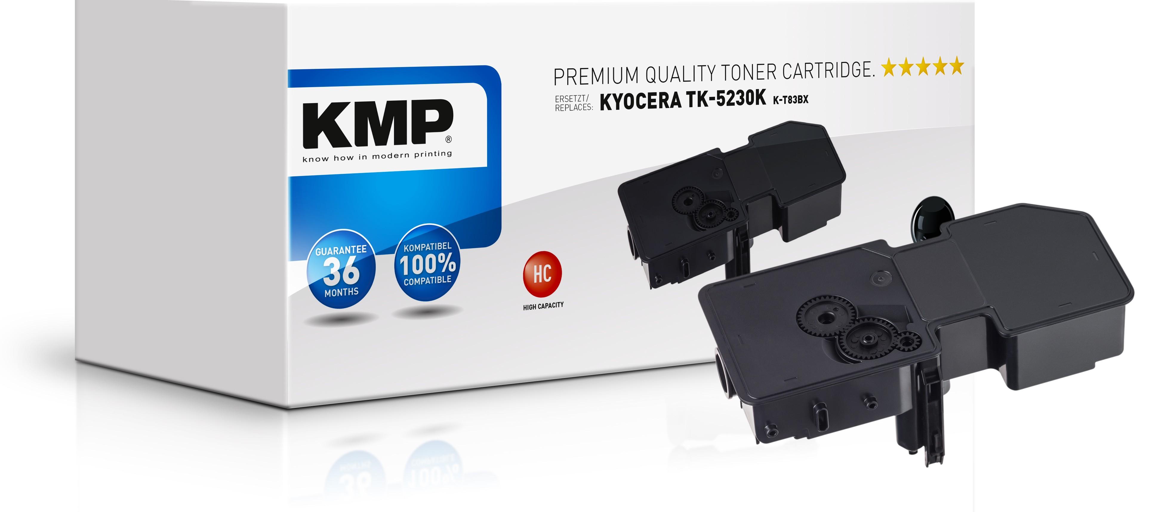 KMP K-T83BX - 2600 Seiten - Schwarz - 1 Stück(e)