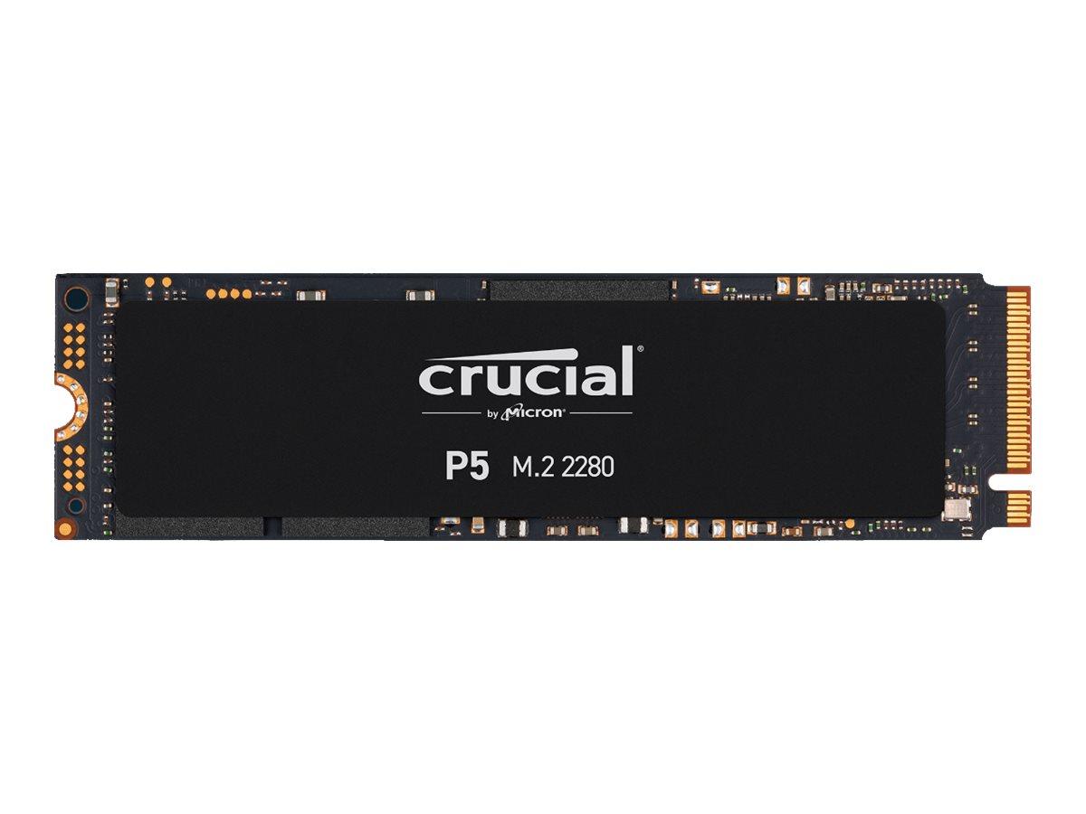 Crucial P5 - 2 TB SSD - intern - M.2 2280 - PCI Express 3.0 (NVMe)