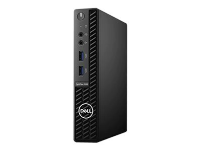 Vorschau: Dell OptiPlex 3080 - Micro - Core i5 10500T / 2.3 GHz - RAM 8 GB - SSD 256 GB - UHD Graphics 630 - GigE - WLAN: Bluetooth, 802.11a/b/g/n/ac - Win 10 Pro 64-Bit - Monitor: keiner - BTS - mit 1 Year Basic Onsite (AT, DE - 3 Years)