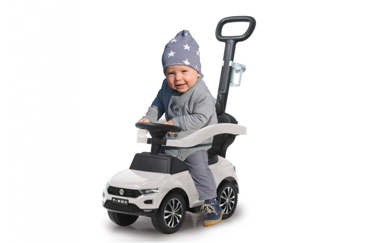 JAMARA VW T-Roc - Junge/Mädchen - 12 Monat( e) - 4 Rad/Räder - Batterien erforderlich - Weiß - 4,12 kg