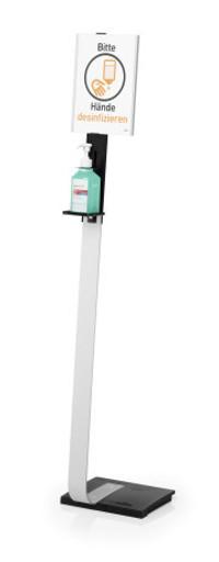 Durable 589223 - Grau - Metall - 1 Stück(e) - 8,8 cm - 5,5 cm - 1464 mm