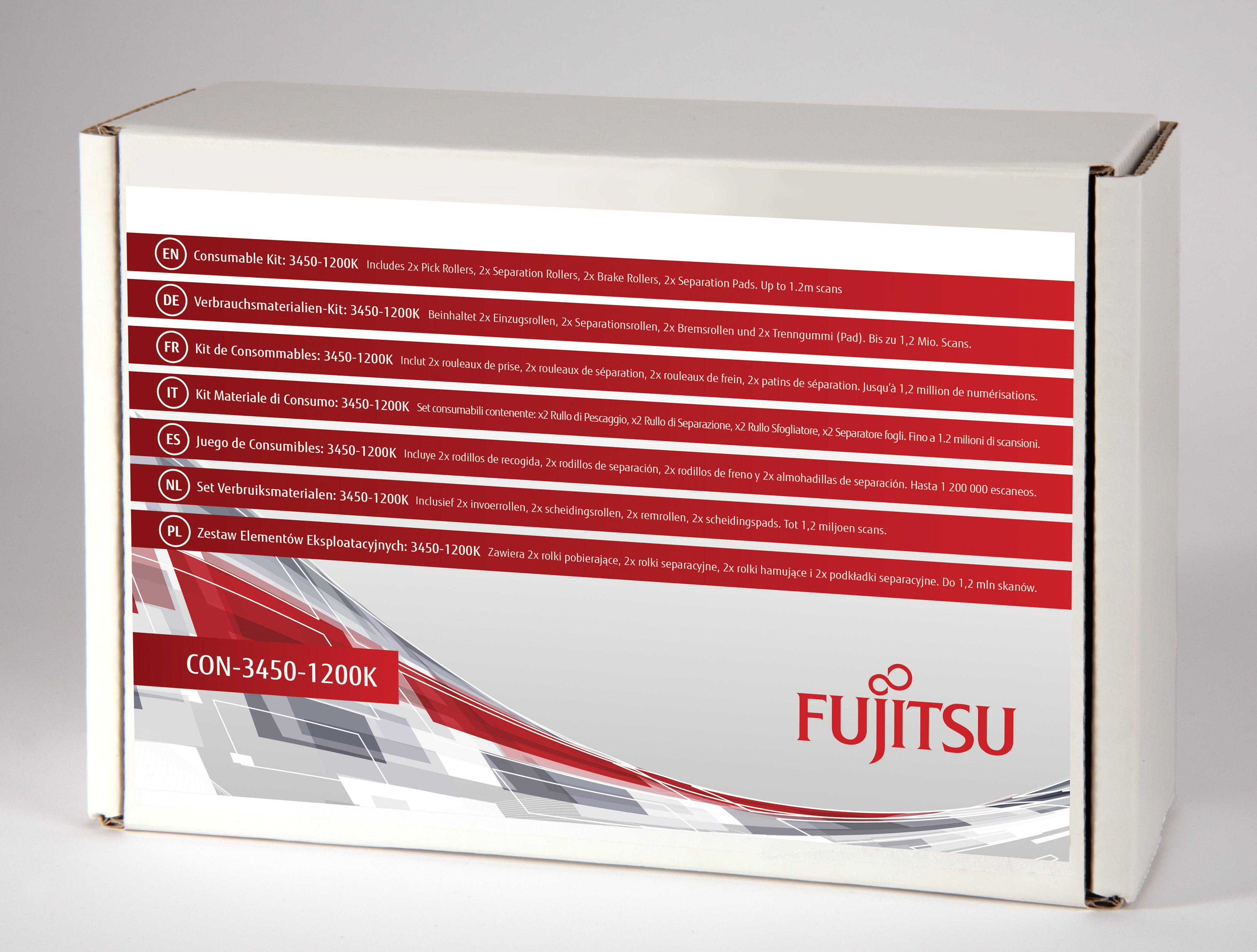 Fujitsu Consumable Kit: 3450-1200K - Scanner