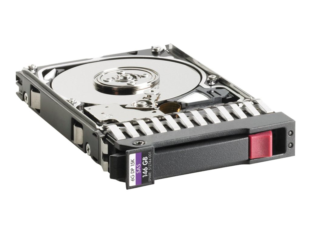 HP 146GB 6G 15K SFF 2.5inch SAS DP Enterprise HDD (512547-B21) - REFURB